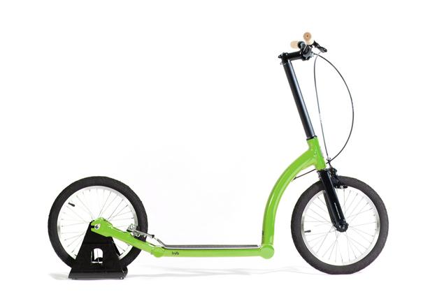 lime adult kick scooter with big wheels, endurance scooter