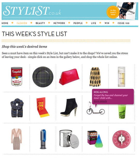 swifty scooters featured in stylist