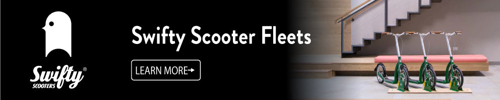 scooter fleet, scooter fleet for business, foot bike