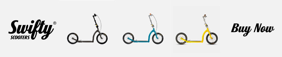 folding adult scooter with big wheels
