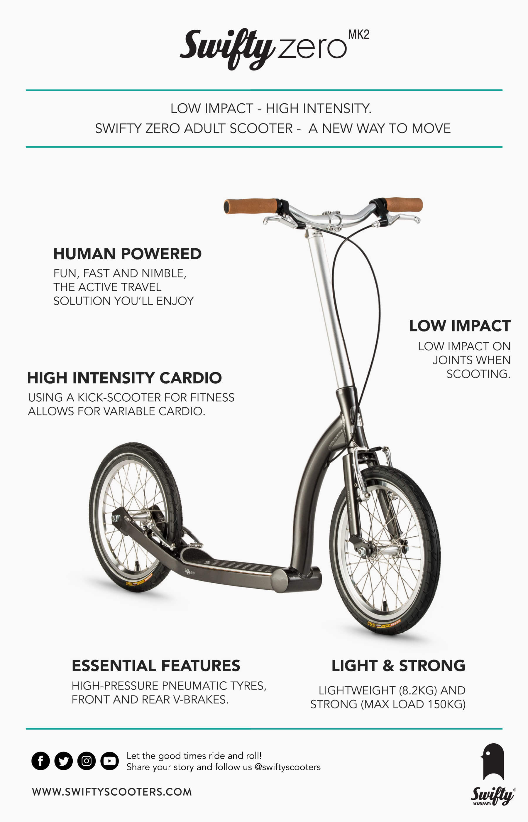 fitness scooter, adult scooter, kick scooter, exercise scooter