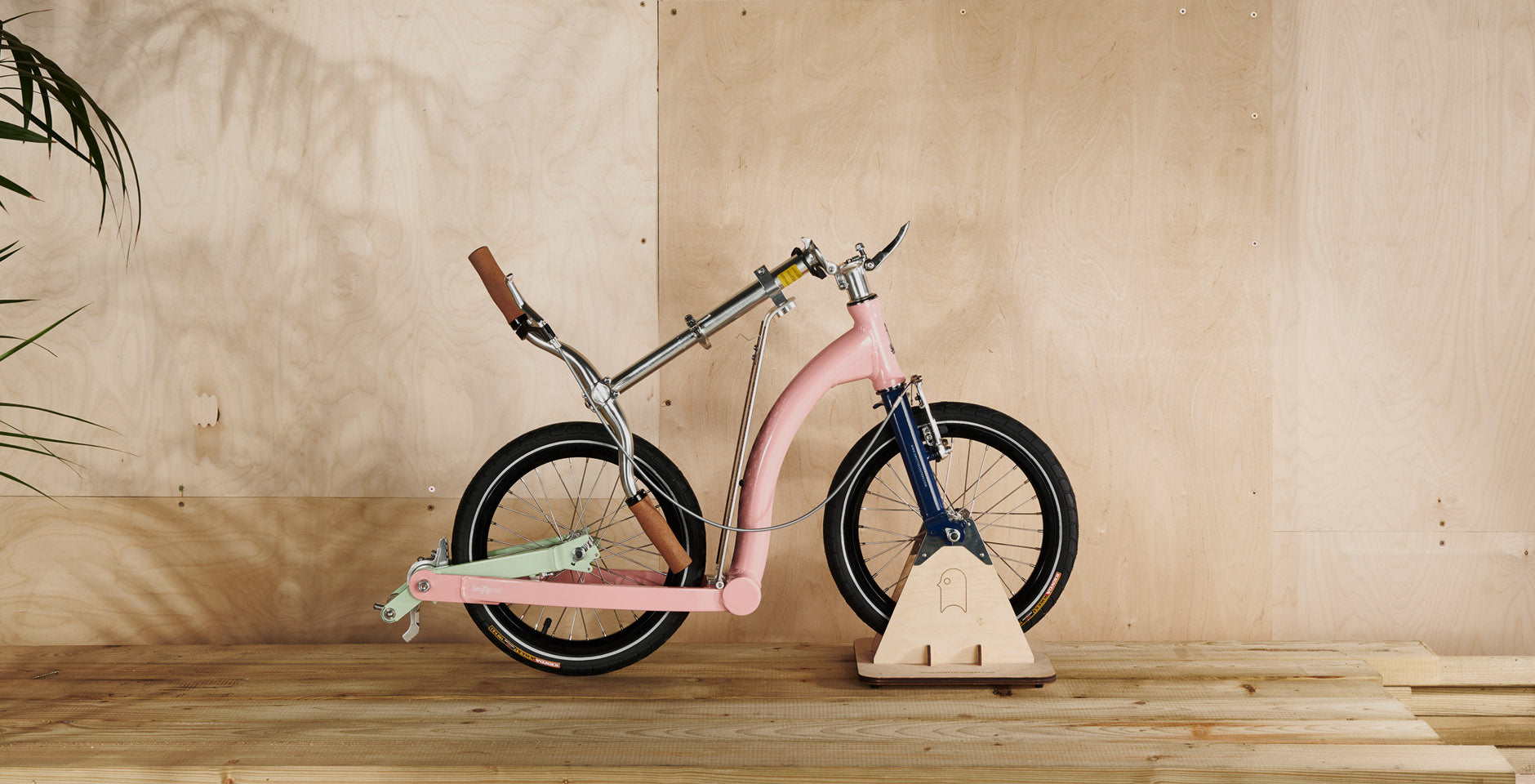 custom colour scooter, colour of the month, pastel scooter