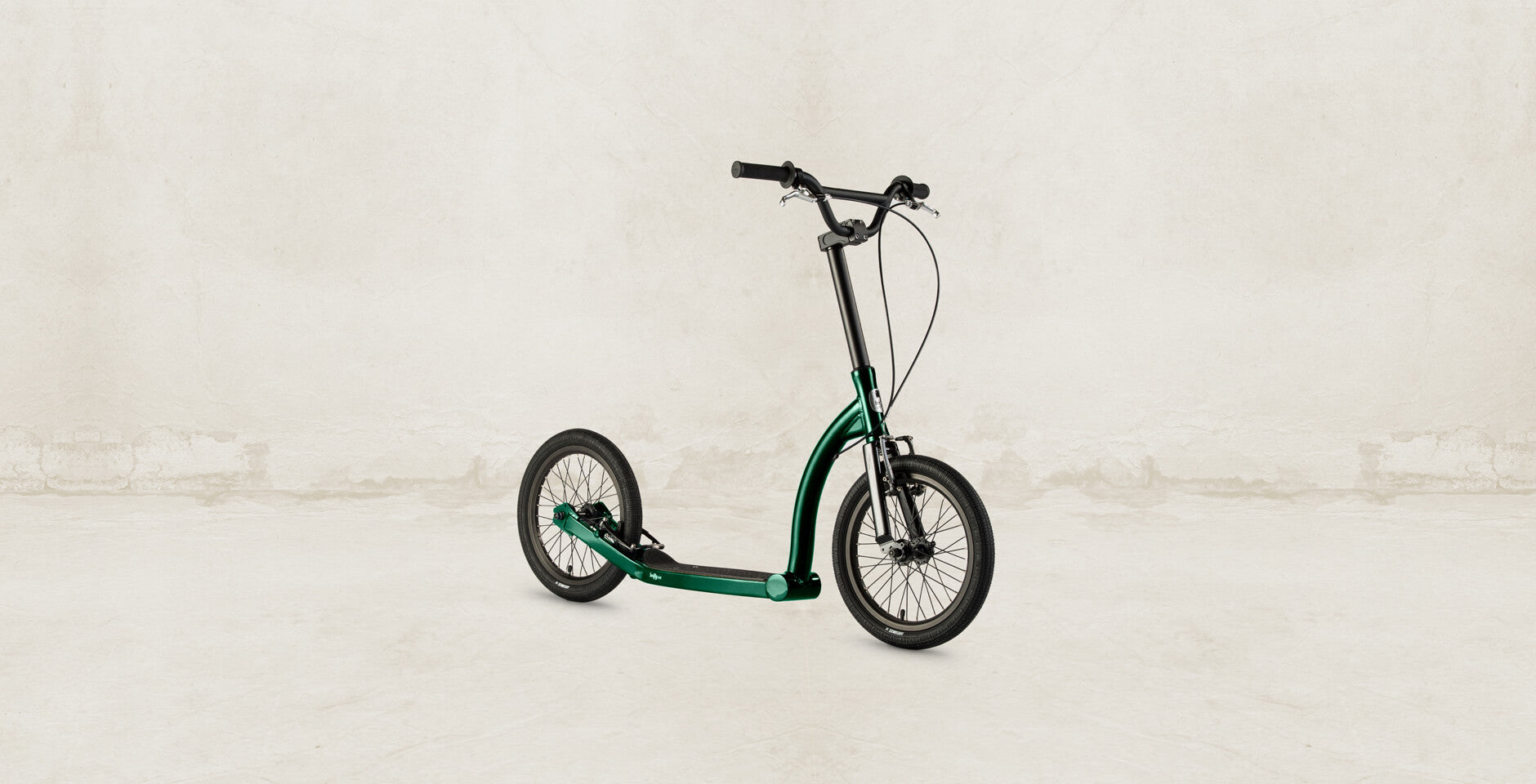 racing green scooter colour of the month custom colour