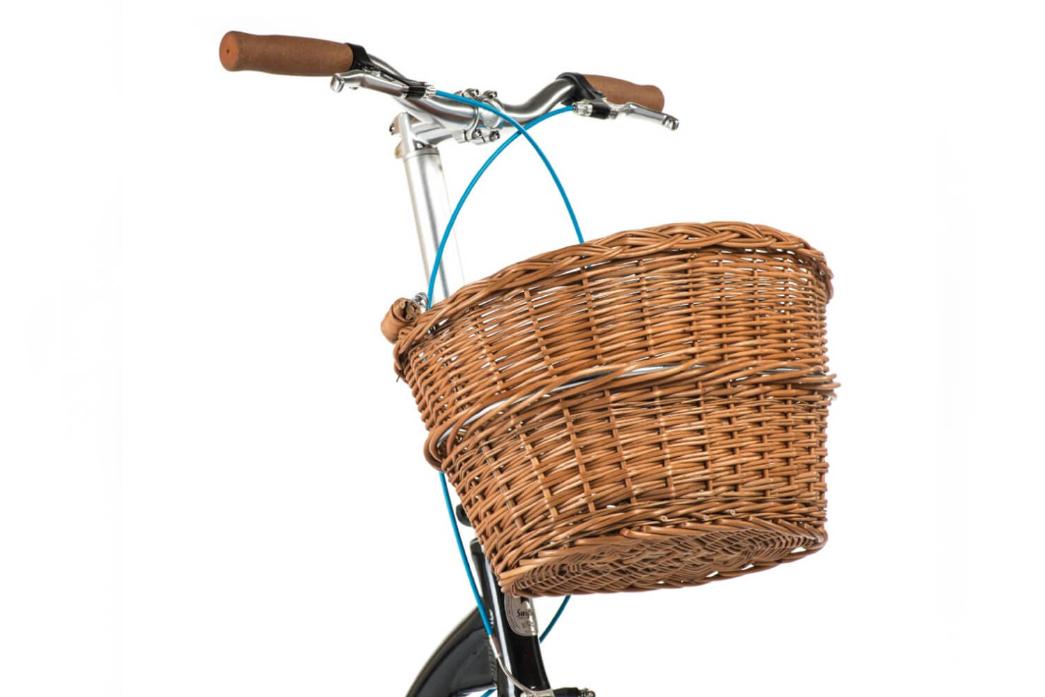 front basket for scooter, scooter wicker basket