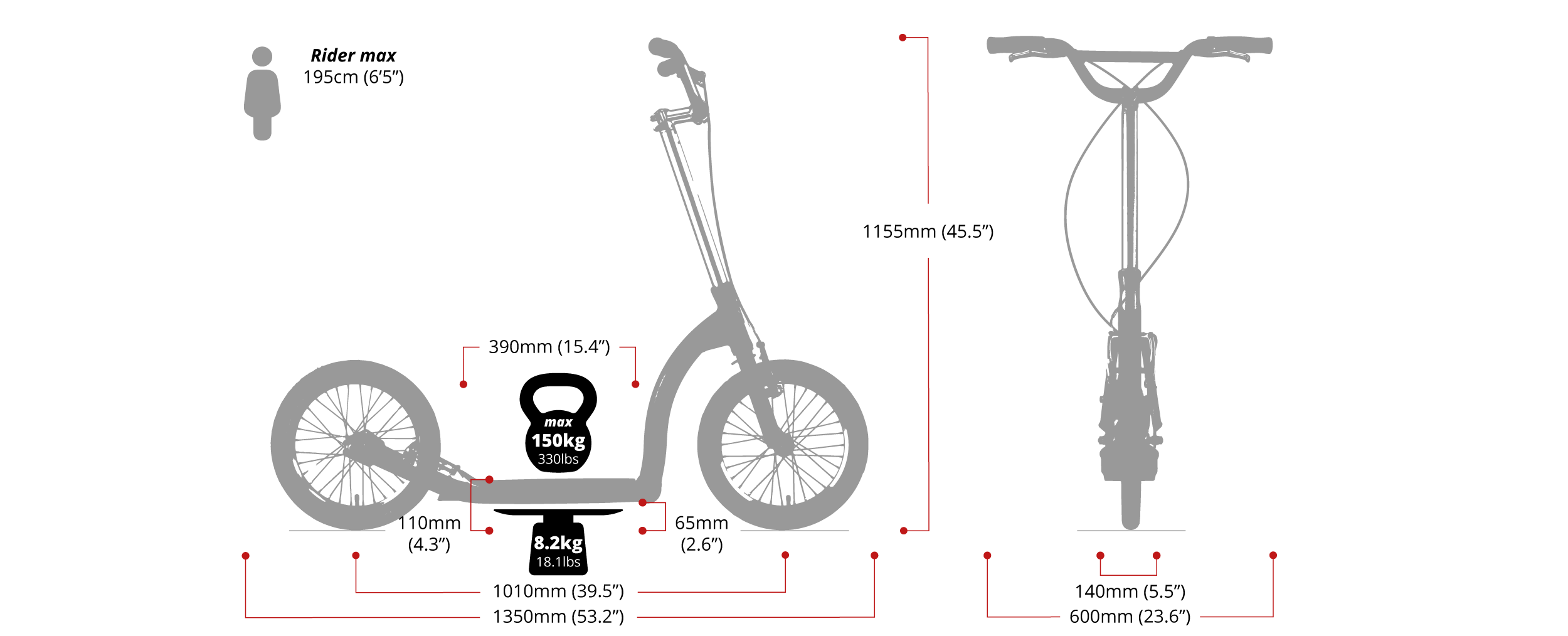 kick scooters for heavy adults, scooter for tall people, scooter for adult over 100kg