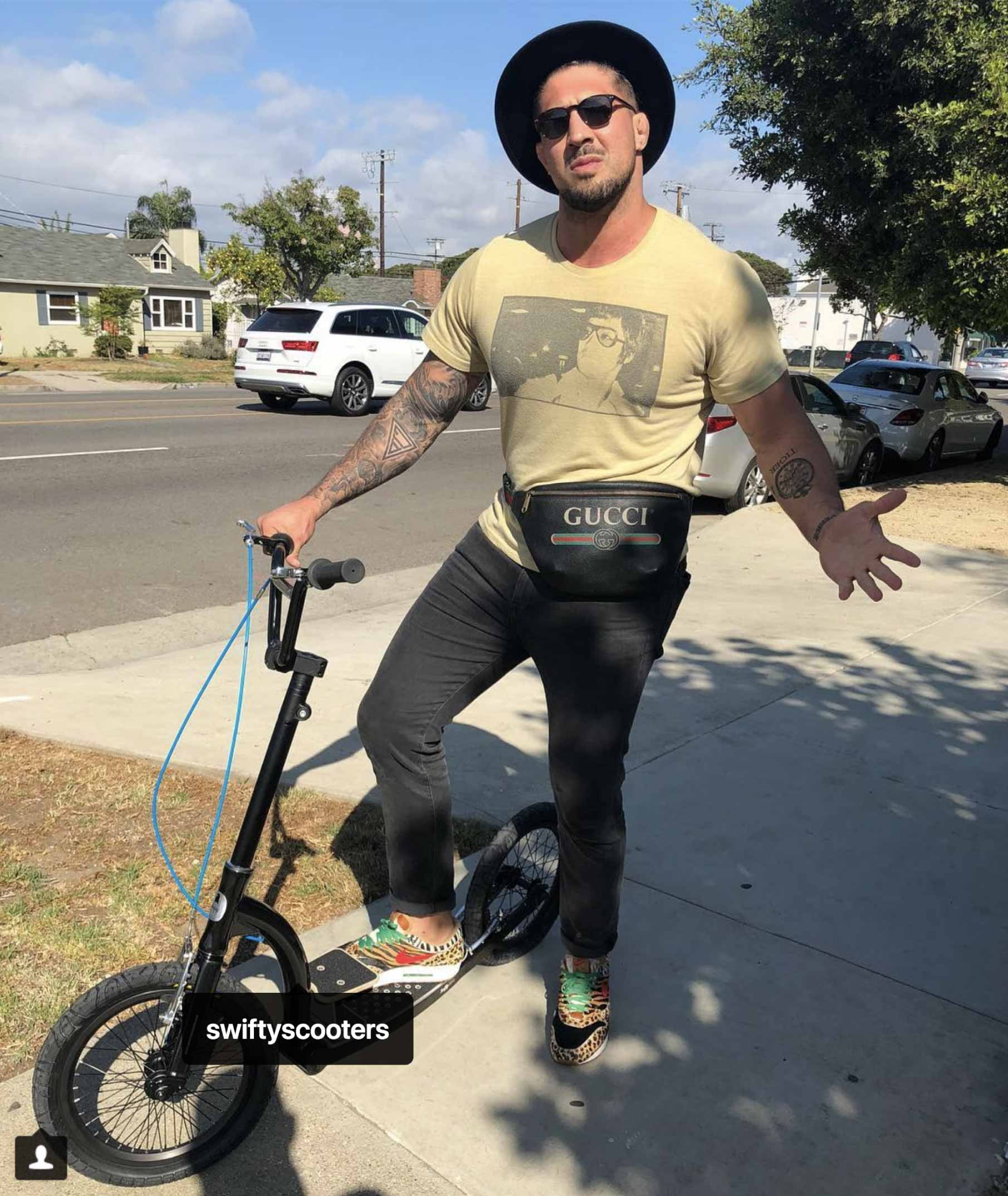 swifty air, adult scooter, kick scooter, swifty scooters, bmx scooter, dirt scooter with big wheels