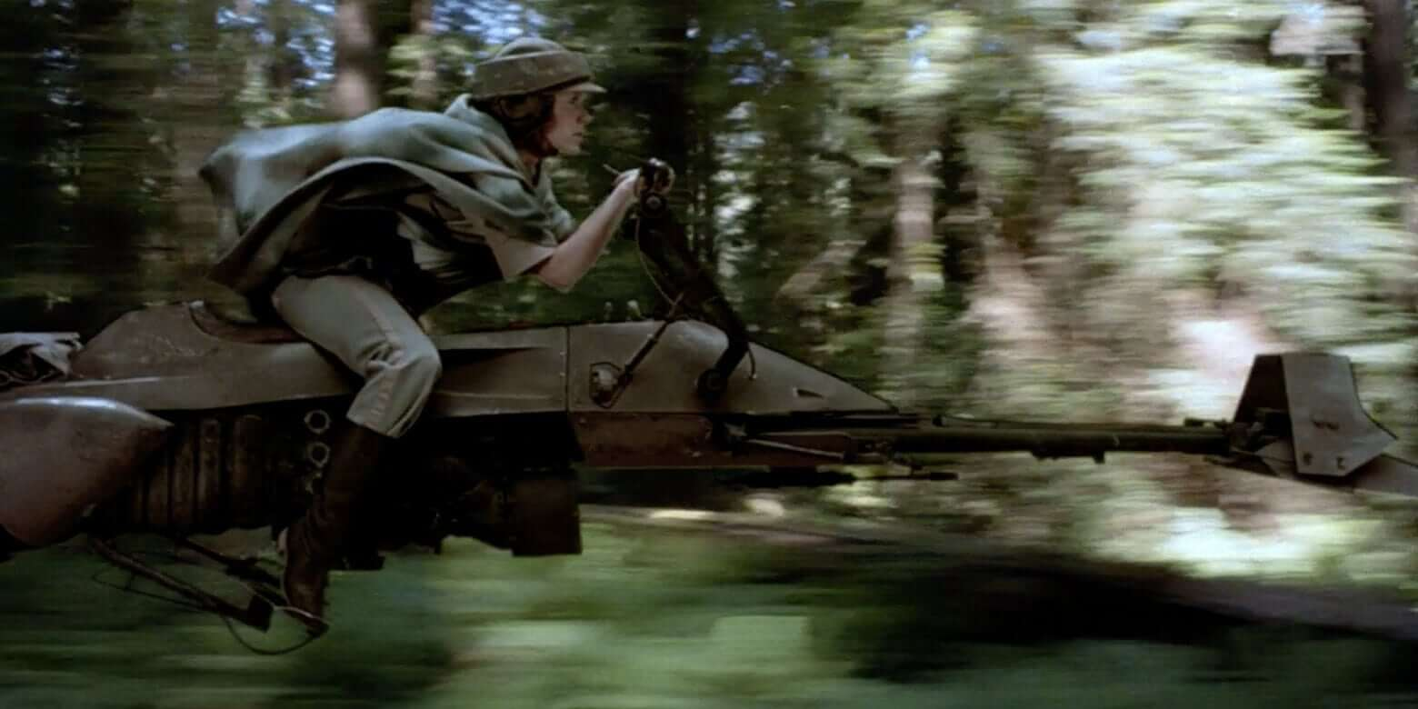 speeder bike, star wars speeder bike
