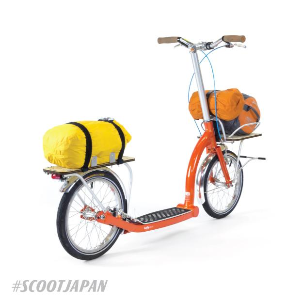 adult scooter with big wheels, long distance scooter, scoot japan