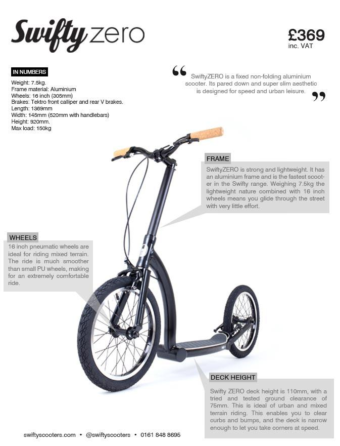 adult kick scooter with big wheels, fitness scooter, exercise scooter