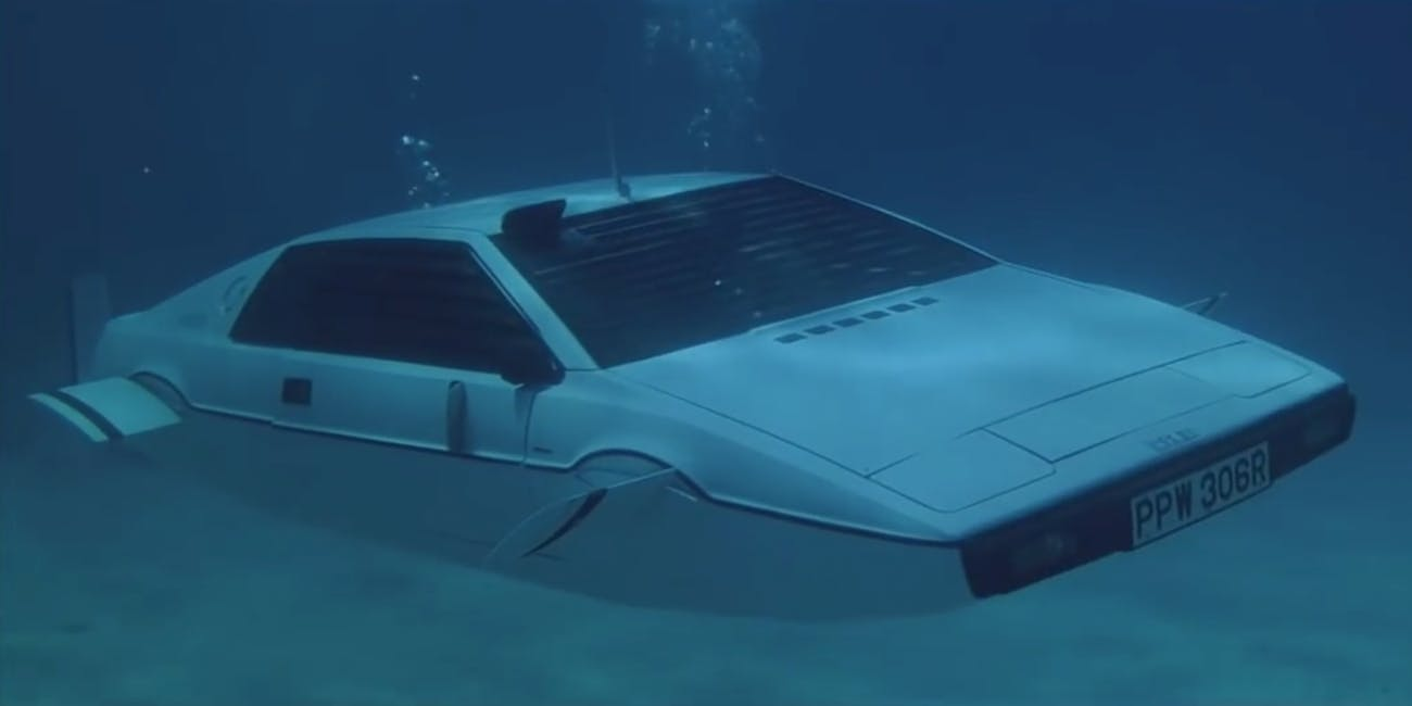submarine car, amphibious car