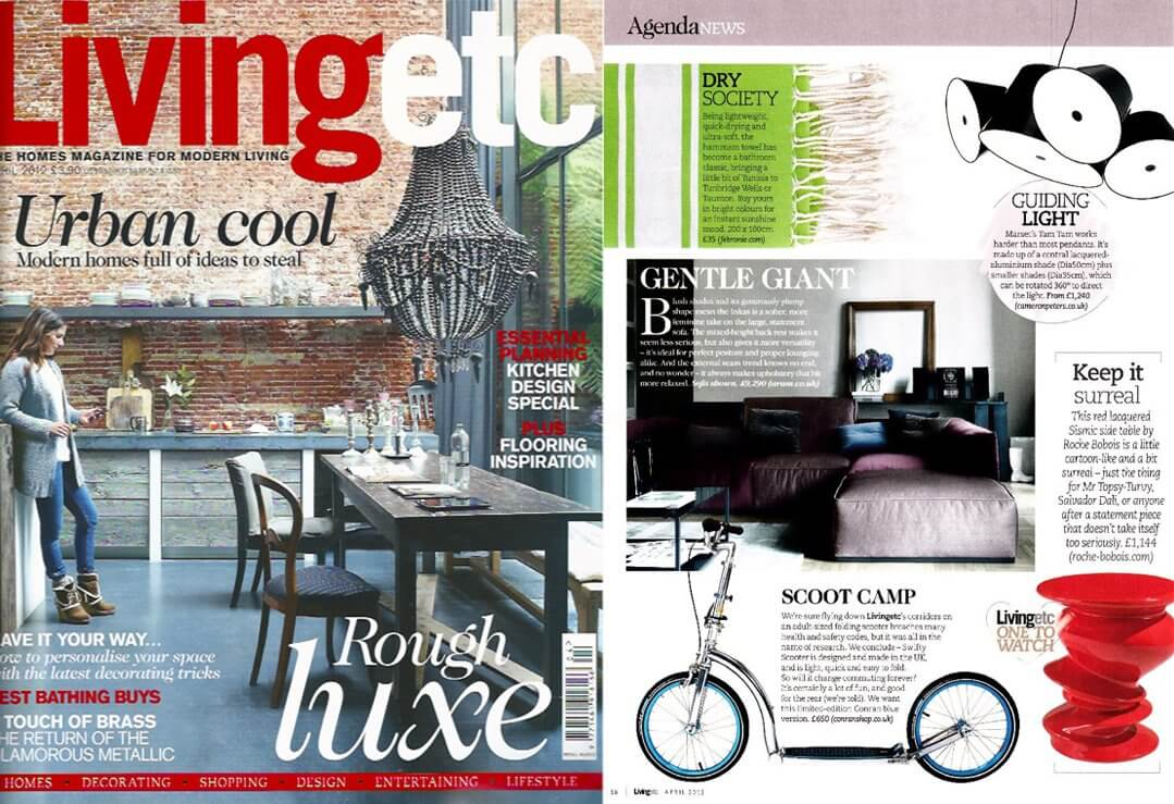 adult scooter swifty in living etc magazine