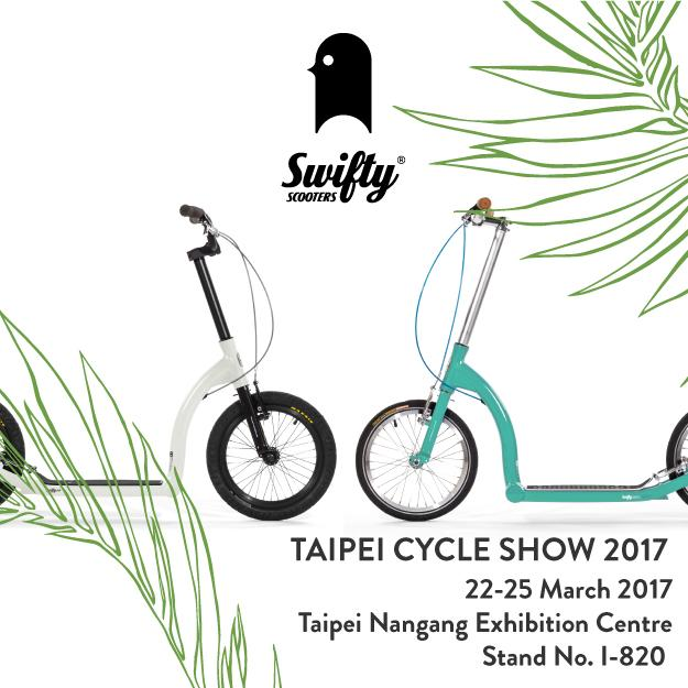 taipei bike show swifty scooters, adult scooter with big wheels, foldable scooter uk