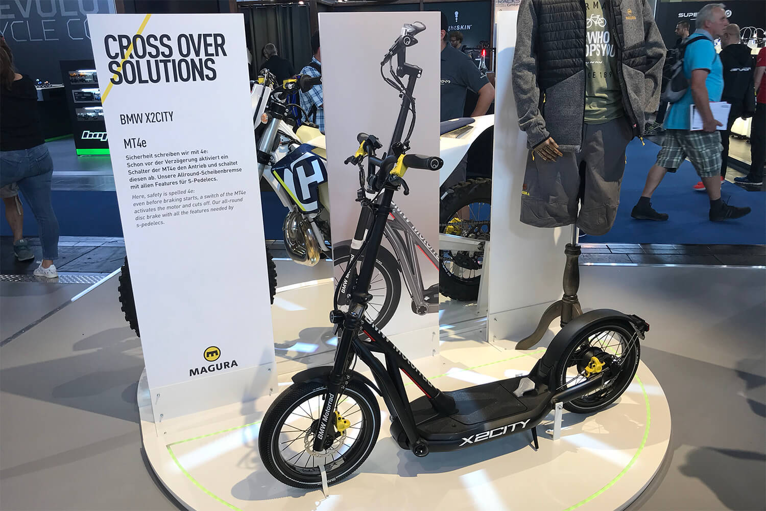 BMW X2City electric scooter