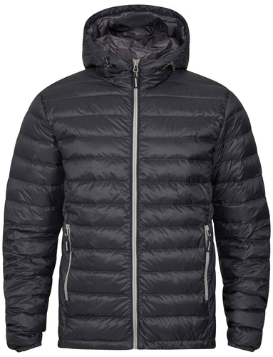 Tracker Superlight Down Hooded Jacket dunjakke med hette, koksgrå