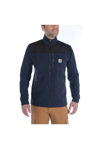 Carhartt Fallon Full-zip Sweatshirt, marineblå