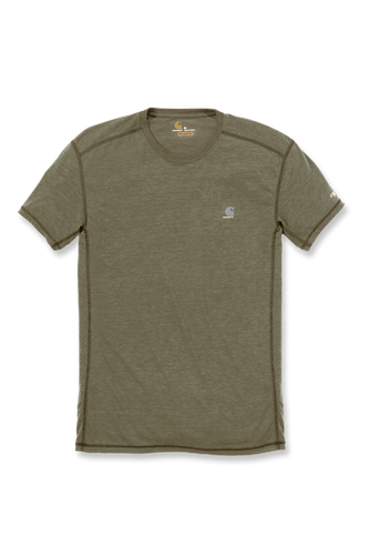 Carhartt Force Extremes® Short Sleeve T-Shirt, grønn-melert