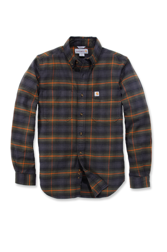 Carhartt Emea Slim Fit Hamilton Plaid Long Sleeve Shirt, grønn/blå