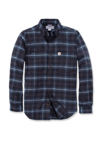 Carhartt Emea Slim Fit Hamilton Plaid Long Sleeve Shirt, blå