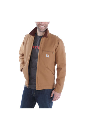 Carhartt Duck Detroit Jacket, brun