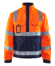 Blåkläder Jakke varsel, orange/marineblå