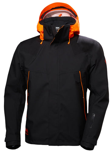 Helly Hansen Chelsea skalljakke, svart/orange