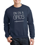 "Sweat ""On en a gros"""