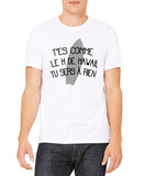 "T-Shirt Blanc REPLIKAA ""Le H de Hawaii"""