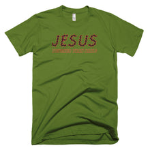 Jesus - Tougher Than Nails Christian T-Shirt (dark) - Made in USA