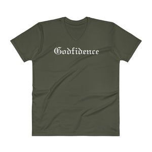 Godfidence - Quality V-Neck Christian T Shirt