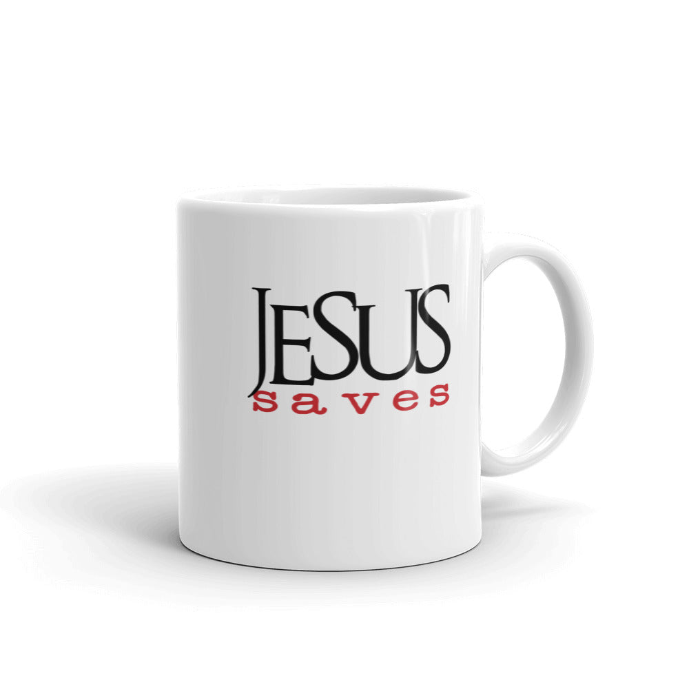 Jesus Saves Christian Coffee Mug