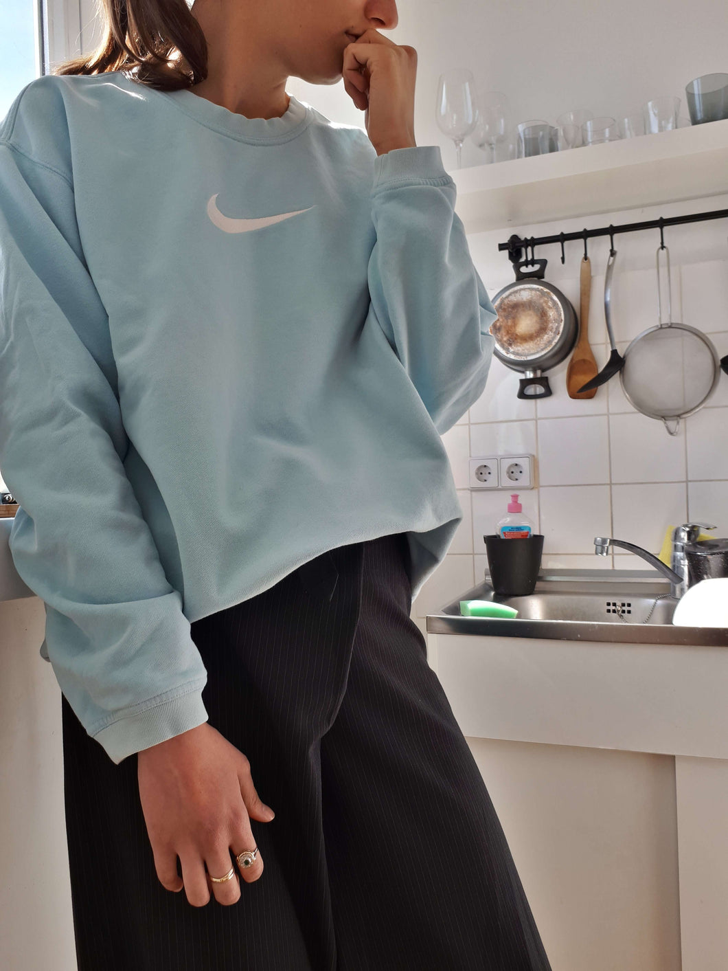2000s NIKE SWEATSHIRT | S/M/L:[Past out]:[vintage clothes]