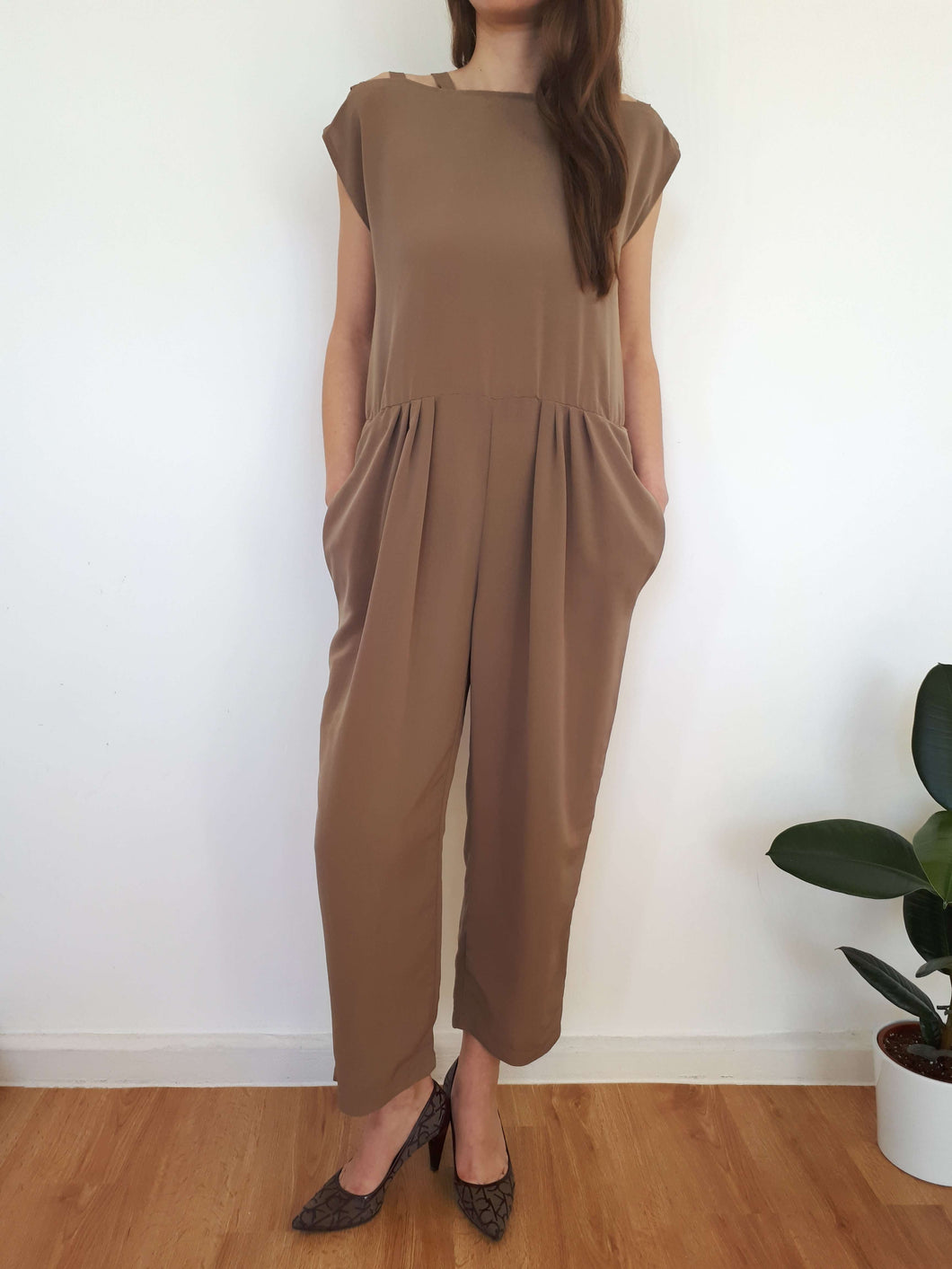 JUMPSUIT | M:[Past out]:[vintage clothes]