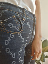 D&G JEANS | monogram | S/M:[Past out]:[vintage clothes]