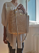 STRAW BAG | shoulder bag |:[Past out]:[vintage clothes]