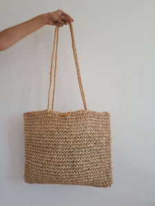 STRAW BAG:[Past out]:[vintage clothes]