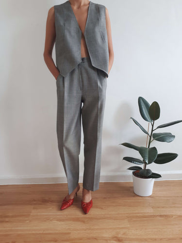 GILET + PANTS SUIT | M:[Past out]:[vintage clothes]
