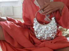 SHELL BEADED HANDBAG:[Past out]:[vintage clothes]