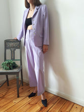 LILAC PANTSUIT | M:[Past out]:[vintage clothes]
