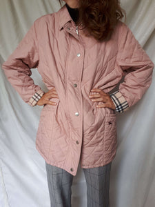 BURBERRY JACKET | quilted | M:[Past out]:[vintage clothes]
