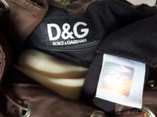 90s D&G BACKPACK:[Past out]:[vintage clothes]