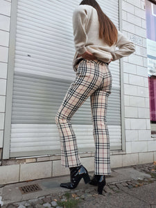 BURBERRY PANTS | XS/S:[Past out]:[vintage clothes]