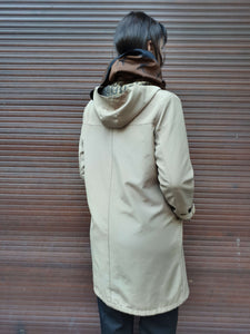 FENDI TRENCH | hooded | monogram | M:[Past out]:[vintage clothes]
