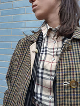 BURBERRY SHIRT | nova check | M:[Past out]:[vintage clothes]