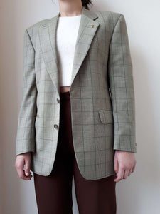 80s YSL BLAZER | M:[Past out]:[vintage clothes]