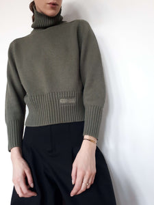 DIESEL SWEATER | cropped turtleneck | S:[Past out]:[vintage clothes]