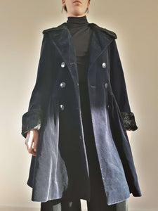 GUY LAROCHE VELVET COAT | M:[Past out]:[vintage clothes]