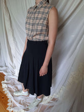 Burberry Sleeveless Shirt | Nova Check | M:[Past out]:[vintage clothes]