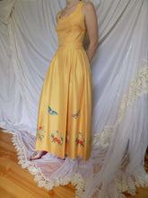 70s Maxi Dress | Backless | M:[Past out]:[vintage clothes]