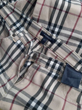 Yk2 Burberry Nova Check pants | slightly flared | S/M:[Past out]:[vintage clothes]