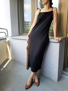 Slip Dress | M/L:[Past out]:[vintage clothes]